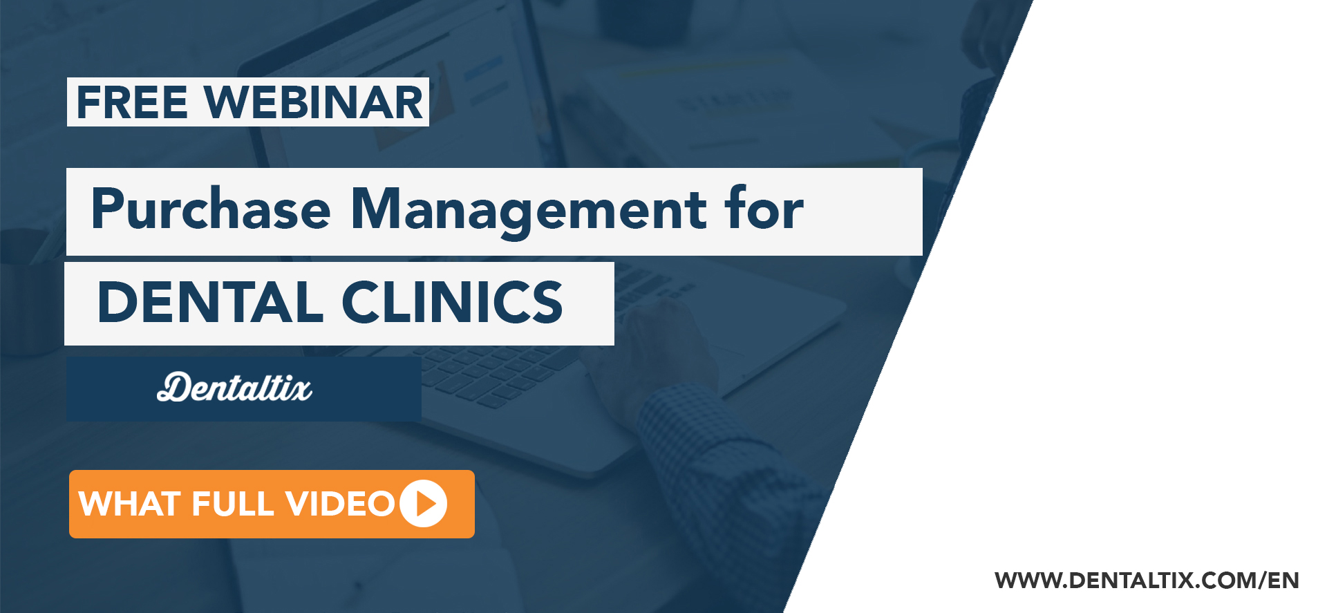 Free webinar: Purchasing management for dental clinics