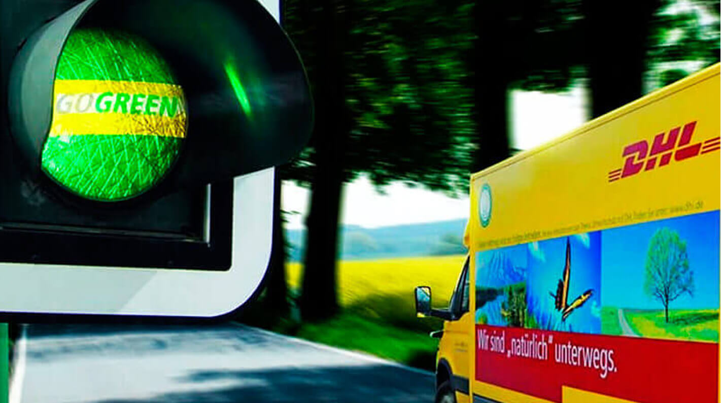 DHL sustainability leader