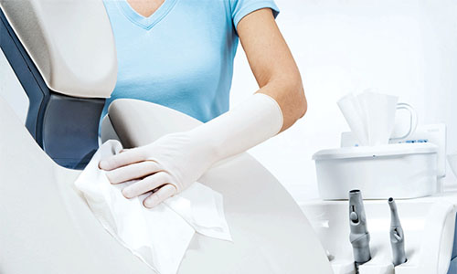 Covid disinfection protocol for dental clinics.