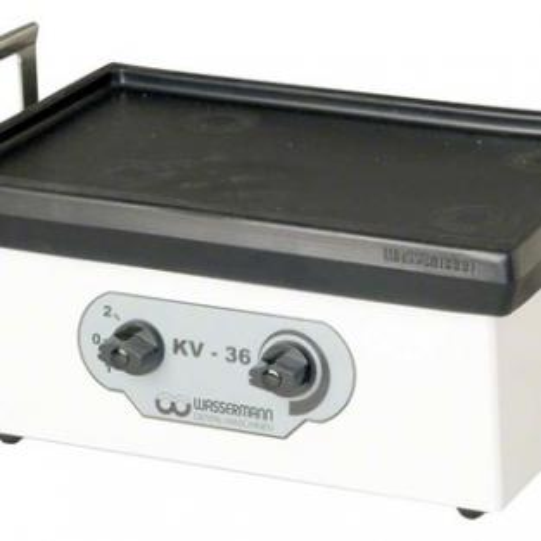 Vibrator Kv-36 - White part, powder coated plastic Img: 202105221