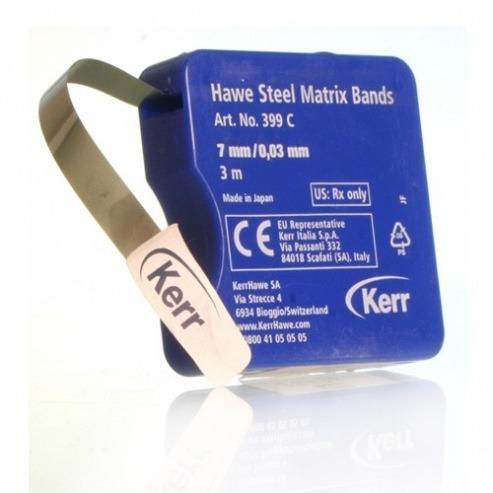 Hawe Steel Matrix Bands (0.03mm.) 5mmx3m Img: 202103131