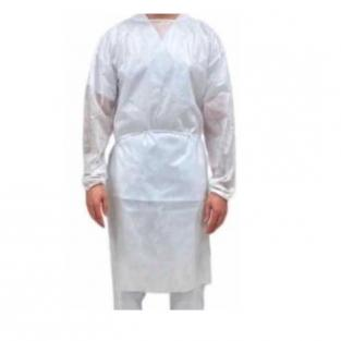 Breathable hydrophobe disposable gown Img: 202101161