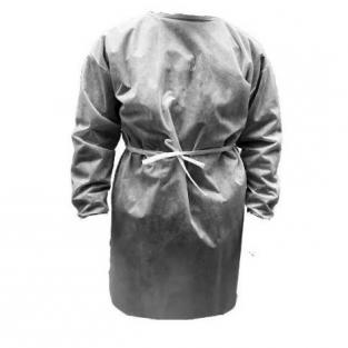 Img1: Reusable plasticized polypropylene gown (50 gr) - 5 Units