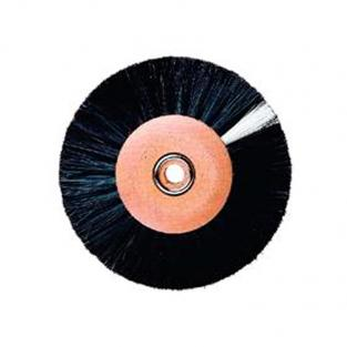 Polished Brush Disc (80mm)-Convertible Black Hair Img: 202001041