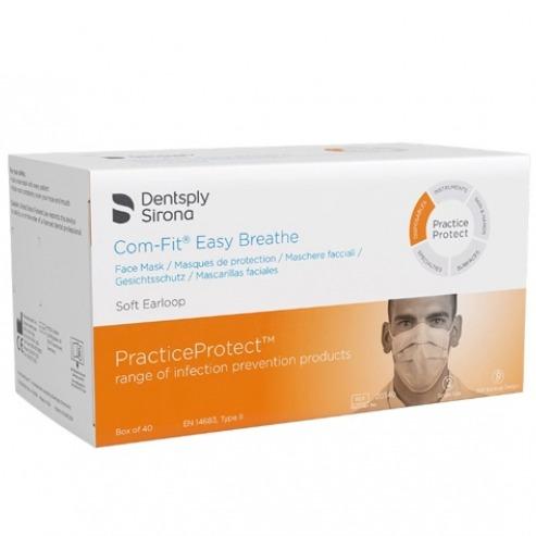 Com-fit Easy Breath:  Easy Breathing Masks Type II (40 units) Img: 202102271