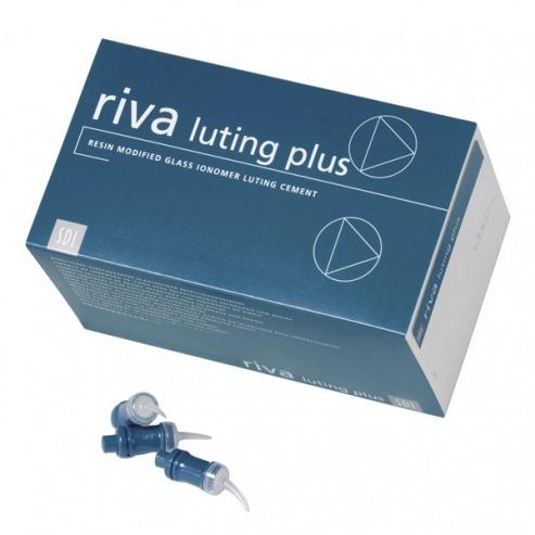 Riva Luting Plus Modified Ionomer - 50 Capsules Img: 202106121