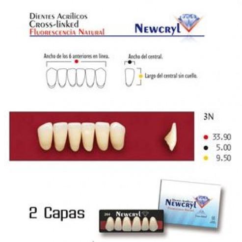 NEWCRYL-VITA 3N Lower A2 Teeth Img: 201807031