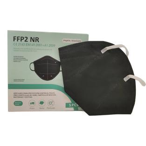 Black FFP2 Mask (10 units) Img: 202102131