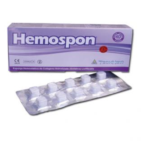 HEMOSPON HEMOSTATIC SPONGE Img: 202012051