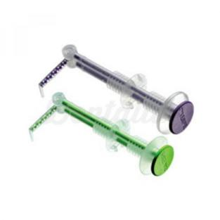 Green syringes for direct intraoral printing (50 pcs)  Img: 201905181