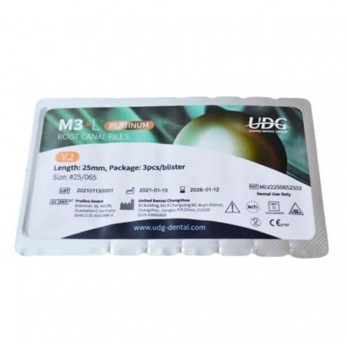 M3-L Platinum 2019: 25 mm rotary files (6 pcs.) - Nº17/12 vt Img: 202107171
