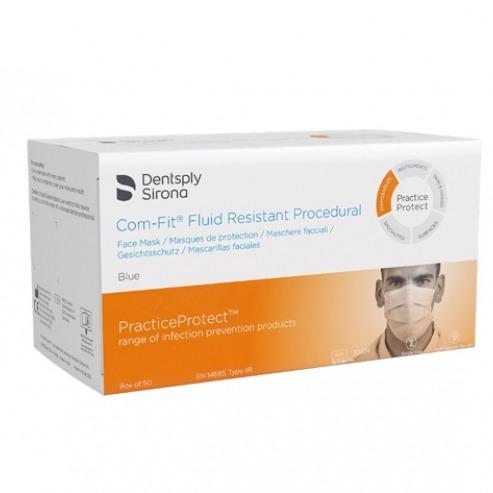 Com-Fit: Fluid resistant masks Type IIR (50 units) Img: 202102271
