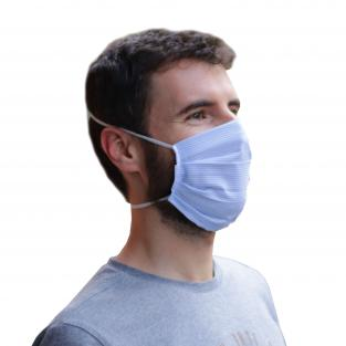 Reusable Hygienic Polyester and Viscose Mask (5 pcs, various colours) Img: 202005231