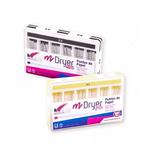 m-Dryer Easy: p/m-Conic Easy paper tips (100 pcs)-X2 (100 units) Img: 202105081