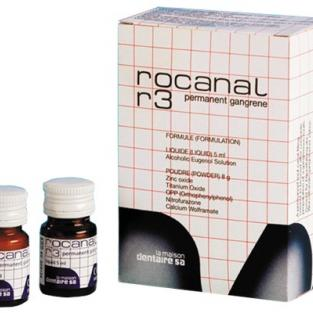 Rocanal R3 - Antiseptic cement for gangrenous teeth Img: 201807031
