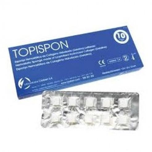 TOPISPON Hemostatic Sponge - 10 units Img: 201807031