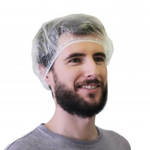 Disposable waterproof caps (100 units) Img: 202009261