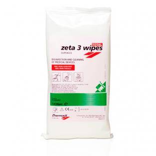 ZETA 3 DISINFECTANT SURFACE TOWELS (120u.)  Img: 201807031
