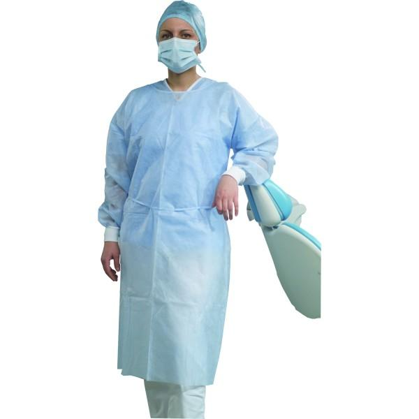 STERILE GOWNS WITH CUFFS 110cm. (50pcs.) | OMNIA