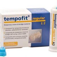 Tempofit® Regular 1:1 - Bis-Acrylic Composite Standard 1:1 - 2x 75 g A2, 10 mixing tips Img: 202110091