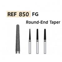 DIAMOND STRAINERS 850-FG Round Tip Cone X5UDS. (850-016 C GREEN) Img: 201811031