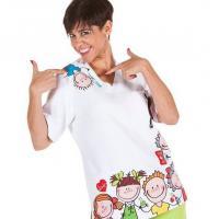 Unisex scrubs- Children's Design-SIZE XL Img: 202010171