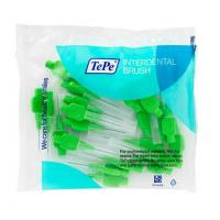 Green Interdental Brushes - 0.8Mm (25 Pcs.) Img: 202002291