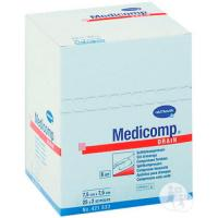 MEDICOMP STERILE GAUZES 30g. 7.5x7.5cm. (40envelopesx5u.) Img: 201807031