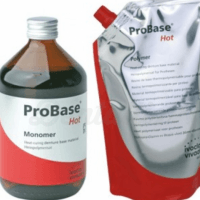 Features of the Ivoclar Probase Cold Resin  - kit (2x500g+ 500ml) Img: 201905181