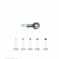 Bur H1 round long-stemmed Contra angle (5ud)-size 010 Img: 202009261