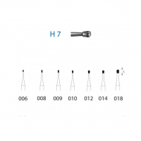 Carbide Tungsten Bur H7 for FG (5u) Img: 201911301