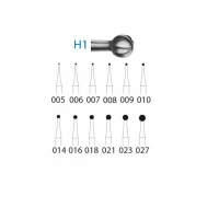 CARBIDE BUR H1 for CA (5u) Img: 201807031