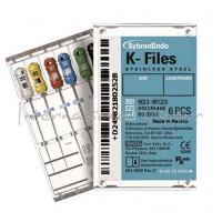 Endodontic K Files 30mm. No. 20 (6u.) Img: 202102271