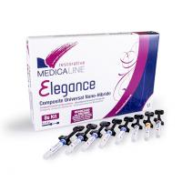 PROMO: Elegance: universal composite kit 8S (8 syr x 4 gr) + Sample + Burs Box Img: 202102201