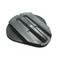 Accessories for Articulator type semi-adjustable (Rail mounting plate (2)) Img: 202008221