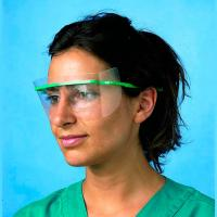 PROTECTIVE DOCTOR GLASSES (1 GREEN MOUNT + 30 SPARE PARTS) DISPOSABLE Img: 201807031