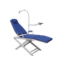 Portable Dental Chair - LED Lamp and Tray Img: 201906221