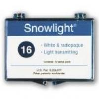 Snowlight White Fiber Glass Posts  (1.0mm.) (1x10u.)  Img: 201807031