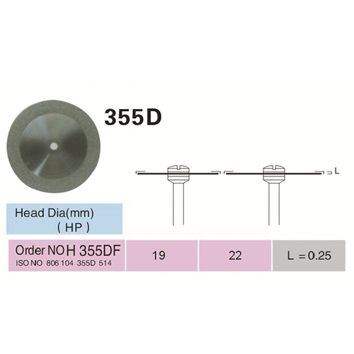 DISCOS DE DIAMANTE FLEX  ISO 355.514.190
