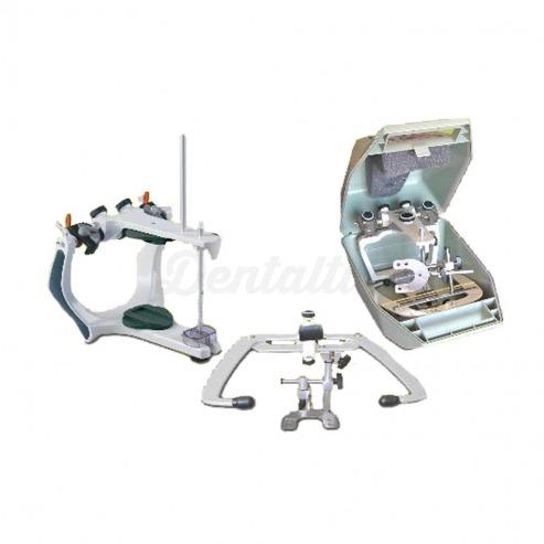 Img1: Articulador Arquimedes PRO Arcon Semiajustable + Arco Elite + Estuche - Articuladores Dentales