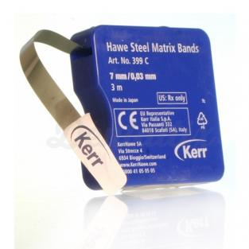 BANDAS MATRICES (0,03mm.) 5mm. x 3m