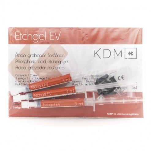 ETCHGEL EV KDM 3 jer x 3ml + 6 canulas