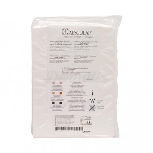 Pack filtro de papel p/ contenedores (171 x 232 mm) Img: 202001041