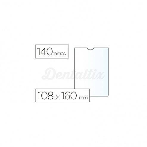 Funda portadocumento Esselte plastico cristal 108 x 160 mm Img: 201807281