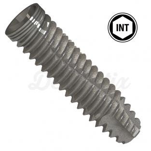 Implante de conexión interna 3.5 mm de diámetro con superficie  HSLA-P+ - 8.5 mm Img: 201812221