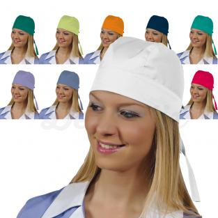 Gorro dental cofia BANDANA (pack de 5u.) - Color Blanco Img: 201807031