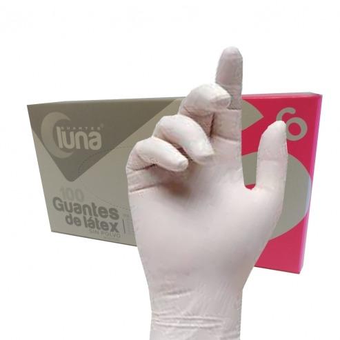 guantes de latex sin polvo