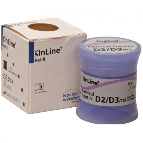 IPS INLINE dentina cervical A-D D2/D3 20 g Img: 201807031