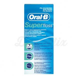 Seda dental precortada Superfloss (50u.)