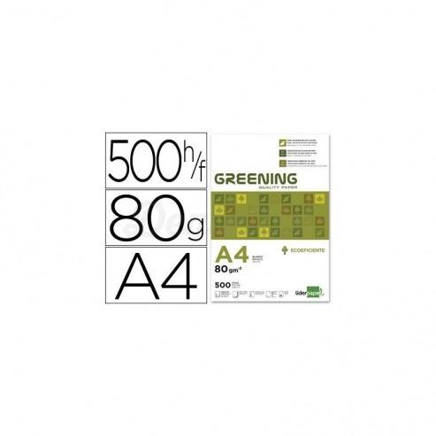 Papel Din A4 Greening 80gr 500 Hojas multifuncion Img: 201807281
